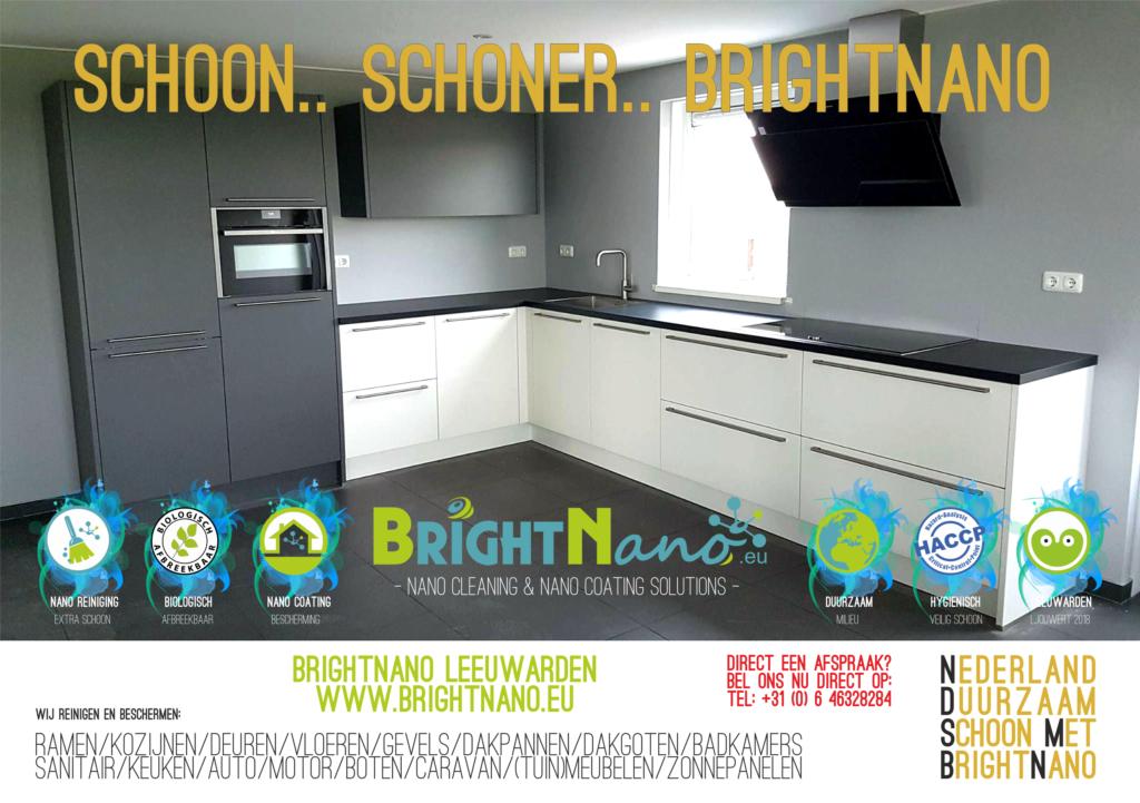 Nano Coating Badkamer : Brightnano oplevering schoonmaak brightnano